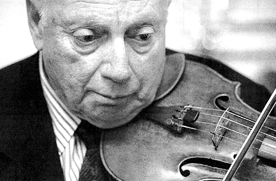 Isaac Stern playing Bach's Chaconne in D minor